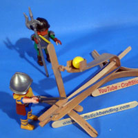 Craft Stick Bending Catapult