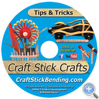 DVD Cover for Craft Stick Craft