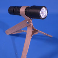 Craft Stick Flashlight Holder