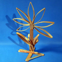 Craft Stick Flower