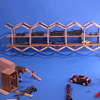 Popsicle Stick Bridge Photo Shoot